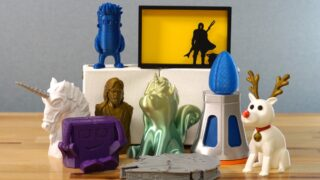 fun toys and models made with a 3d printer
