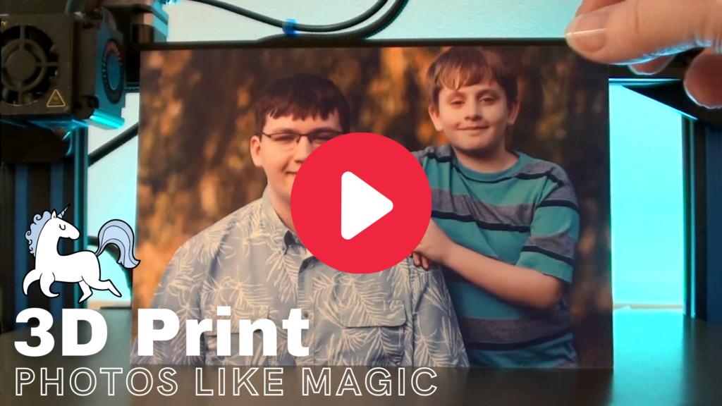 how to make lithophanes, photo of 2 boys