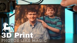 turn a photo into a 3d printed lithophane